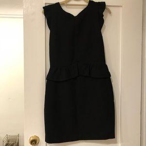 Sandro black cocktail dress